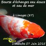 Bourse aquariophile d'échanges eau douce et eau de mer à Limoges (87), le dimanche 07 Juin 2015