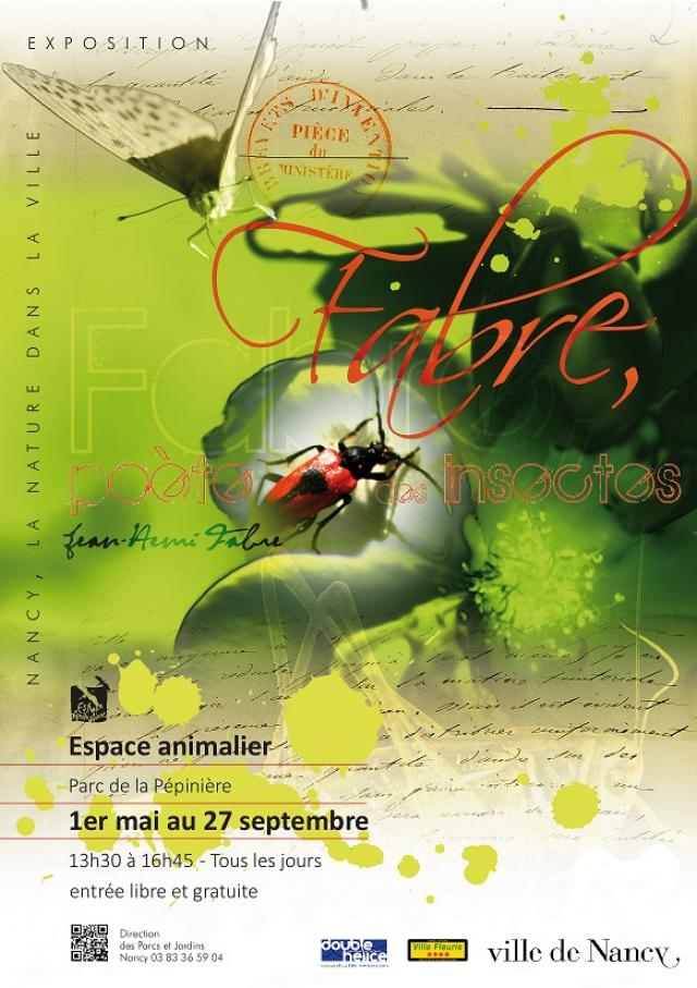 """Exposition """"Fabre, poète des insectes"""" à Nancy (54), du vendredi 1er mai au dimanche 27 septembre 2015"""