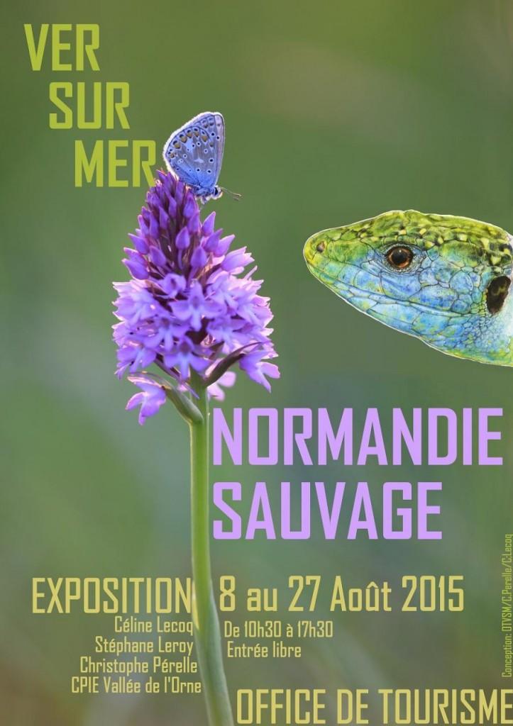 """Exposition """"Normandie Sauvage"""" à Ver sur Mer (14), du samedi 08 au jeudi 27 août 2015"""