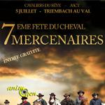 7 ème Fête du Cheval à Triembach au Val (67), le dimanche 05 juillet 2015