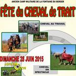 Fête du Cheval de Trait à Orcines (63), le dimanche 28 juin 2015