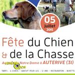 Fête du chien et de la chasse à Auterive (31), le dimanche 05 juillet 2015