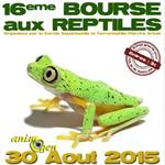 16 ème Bourse aux reptiles à Béthune (62), le dimanche 30 Août 2015
