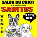 """Salon du chiot et du chaton """"Animaliades"""" à Saintes (17), du samedi 11 au dimanche 12 juillet 2015"""