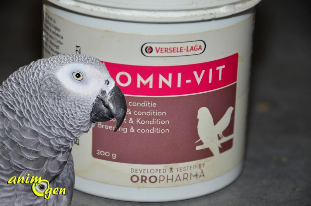 Les vitamines pour nos perroquets : Omni-Vit (Versele Laga)