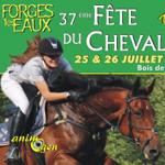37 ème Fête du Cheval à Forges les Eaux (76), du samedi 25 au dimanche 26 juillet 2015