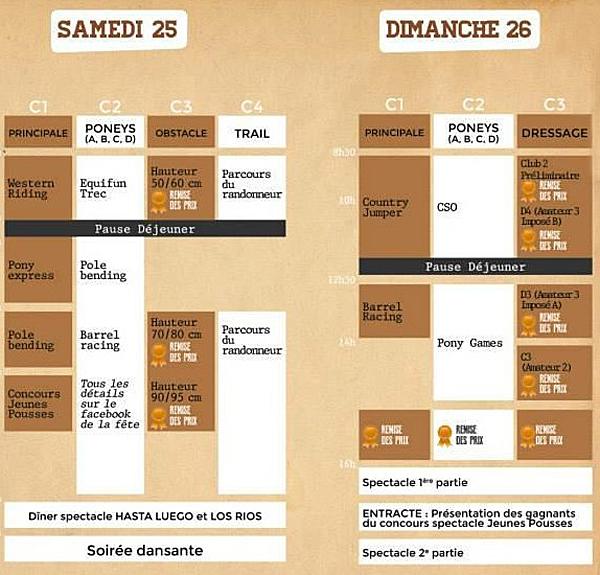 Fête du Cheval à Levens (06) du samedi 25 au dimanche 26 juillet 2015