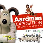 Exposition Aardman à Paris (75), du 21 mars au 30 août 2015