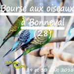 Bourse aux oiseaux à Bonneval (28), du samedi 29 au dimanche 30 août 2015