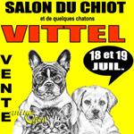 Animaliades, 1 er Salon du chiot à Vittel (88), du samedi 18 au dimanche 19 juillet 2015