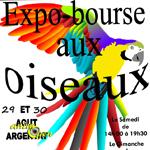 8 ème Exposition-Bourse aux oiseaux à Argentat (19), samedi 29 et dimanche 30 août 2015