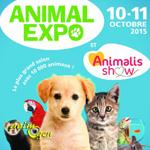 """Salon """"Animal Expo"""" à Paris (75), du samedi 10 au dimanche 11 octobre 2015"""
