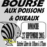 Bourse aux poissons et oiseaux à Reims (51), le dimanche 27 septembre 2015