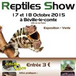Reptiles Show à Béville le Comte (28), du samedi 17 au dimanche 18 octobre 2015