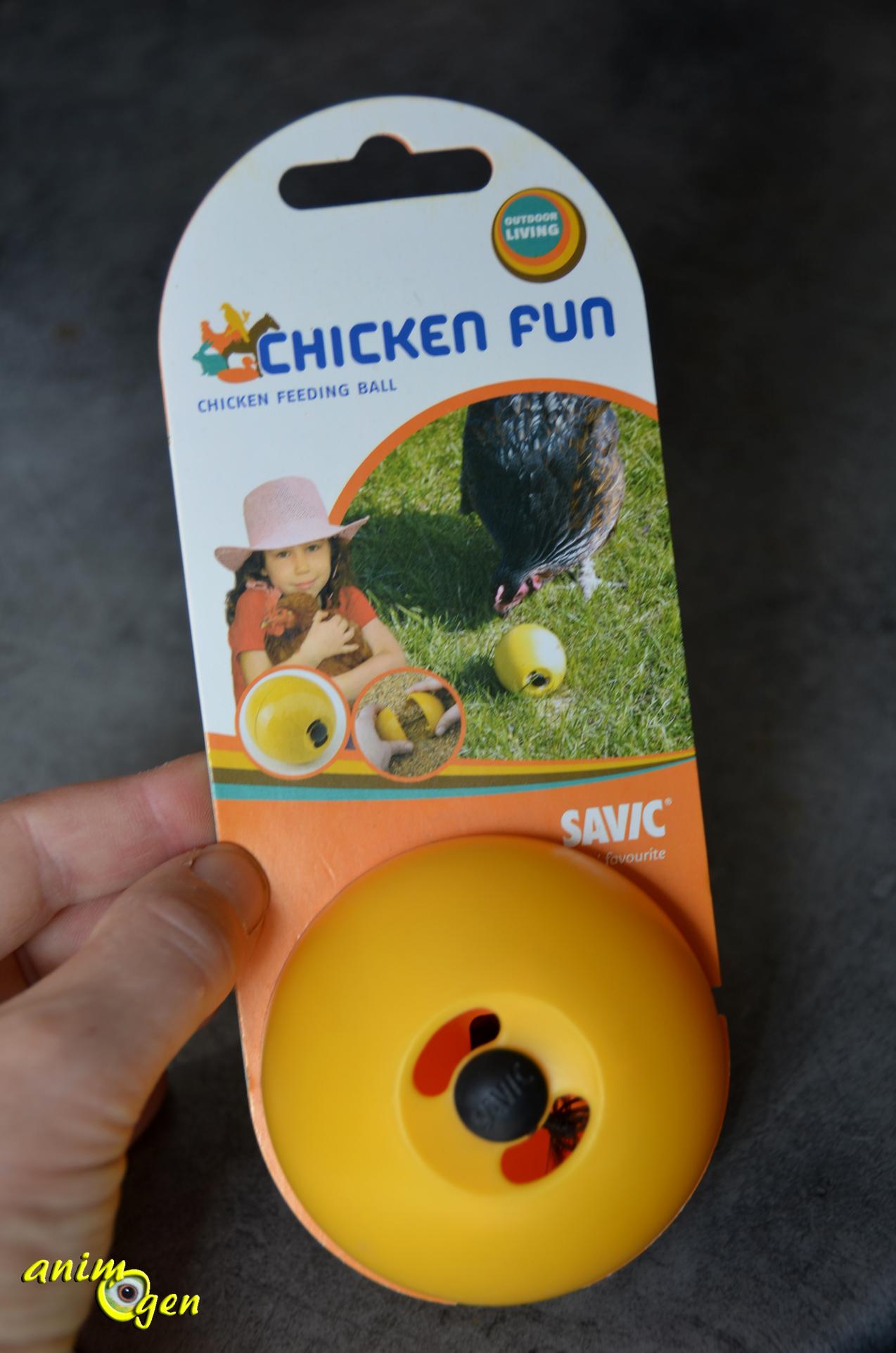 Jouet balle de foraging pour poules chicken fun for Prix d une poule rousse