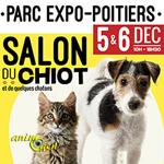 Salon du chiot à Poitiers (86), du samedi 05 au dimanche 06 décembre 2015