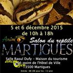 5 ème Salon du reptile à Martigues (13), du samedi 05 au dimanche 06 décembre 2015