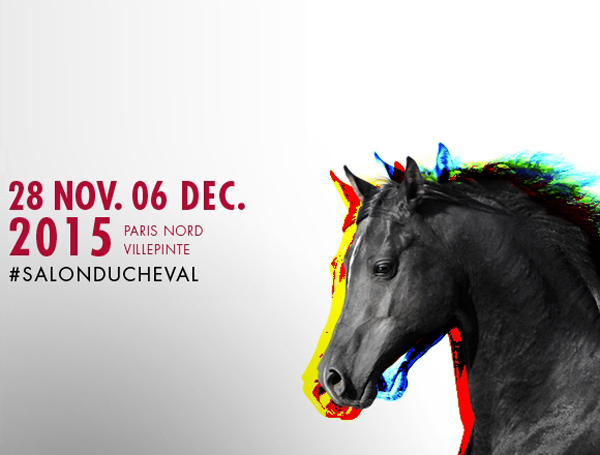 Salon du Cheval à Paris (93), du samedi 28 novembre au dimanche 06 décembre 2015
