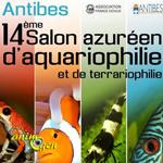 14 ème Salon azuréen d'aquariophilie et de terrariophilie à Antibes (06), du samedi 06 au dimanche 07 février 2016