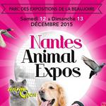 Nantes Animal Expos à Nantes (44), du samedi 12 au dimanche 13 décembre 2015