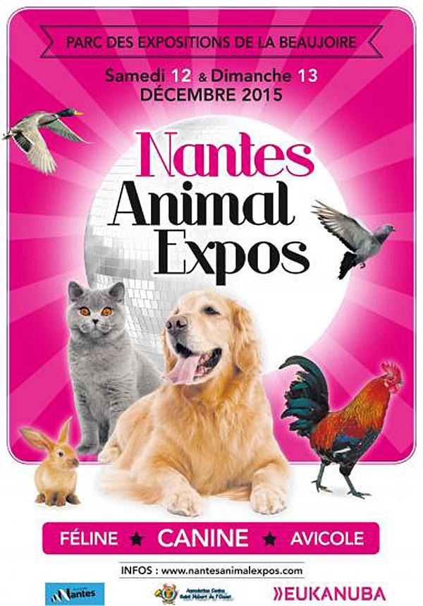 nantes animal expos nantes 44 du samedi 12 au dimanche 13 d cembre 2015 animogen. Black Bedroom Furniture Sets. Home Design Ideas
