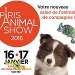 Paris Animal Show à Paris (75), du samedi 16 au dimanche 17 janvier 2016