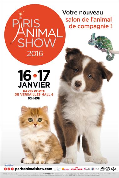 Paris animal show paris 75 du samedi 16 au dimanche - Salon du chiot paris ...