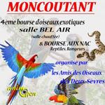 4 ème Bourse d'oiseaux exotiques, reptiles et rongeurs à Moncoutant (79), le dimanche 24 janvier 2016