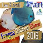 France Discus Show à Arvert (17), du vendredi 1 er au dimanche 03 avril 2016