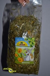 Alimentation pour lapins et rongeurs : foin et fleurs de prairie Blütenwiese, JR Farm (test, avis, prix)