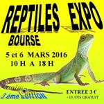 3 ème Reptiles expo-bourse à Bellerive (03), du samedi 05 au dimanche 06 mars 2016