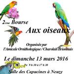 2 ème Foire aux oiseaux à Digoin (71), le dimanche 13 mars 2016