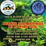 Bourse aquariophile à Baudour (Belgique), le dimanche 13 mars 2016