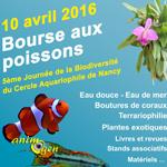 Bourse aux poissons, terrariophilie et plantes à Nancy (54), le dimanche 10 avril 2016
