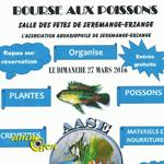 2 ème Bourse aux poissons à Séremange Erzange (57), le dimanche 27 mars 2016