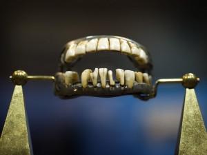 Histoire d'animaux : les dents de George Washington