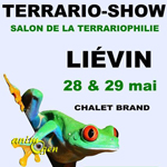 Bourse-Expo Terrario-Show à Liévin (62), du samedi 28 au dimanche 29 mai 2016