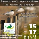 Exposition «Plumes, poils, crins et duvet» au Crotoy (80), du vendredi 15 au dimanche 17 avril 2016
