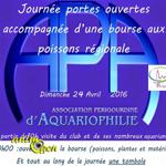 Journée portes ouvertes et Bourse aux Poissons à Périgueux (24), le dimanche 24 avril 2016
