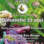 Bourse aquariophile d'échanges eau douce et eau de mer à Limoges (87), le dimanche 22 mai 2016