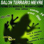 2 ème Salon Terrario Nièvre à Magny-Cours (58), du samedi 04 au dimanche 05 juin 2016