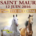 27 ème Fête du cheval à Saint Maur (36), le dimanche 12 juin 2016