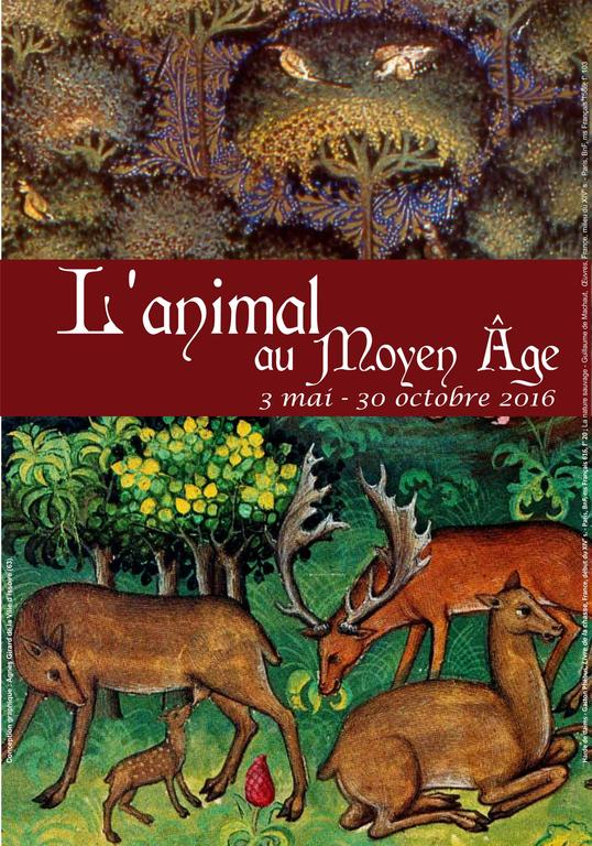 Exposition « L'animal au Moyen Âge » à Issoire (63), au 30 octobre 2016