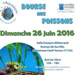 Bourse aux poissons à Montereau Fault Yonne (77), le dimanche 26 juin 2016