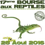17 ème Bourse aux reptiles à Béthune (62), le dimanche 28 août 2016