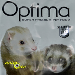Croquettes Optima pour furet (test, avis, prix)