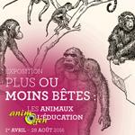 """Exposition """"Plus ou moins bêtes"""" à Rouen (76), du vendredi 1 er avril au dimanche 28 août 2016"""