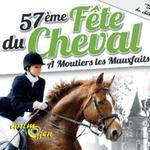 57 ème Fête du Cheval à Moutiers les Mauxfaits (85), le dimanche 07 août 2016