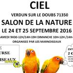 Ciel, Salon de la nature à Verdun (71), du samedi 24 au dimanche 25 septembre 2016