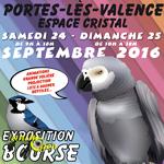 Exposition-Bourse aux oiseaux à Portes lès Valence (26), du samedi 24 dimanche 25 septembre 2016